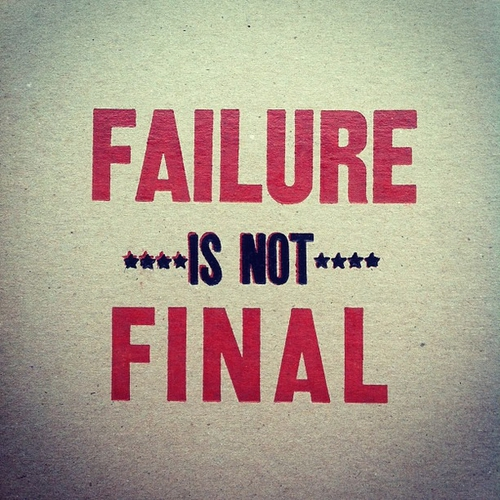 Failure-is-not-the-end-of-the-road