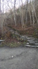 Stairs that tried to kill me