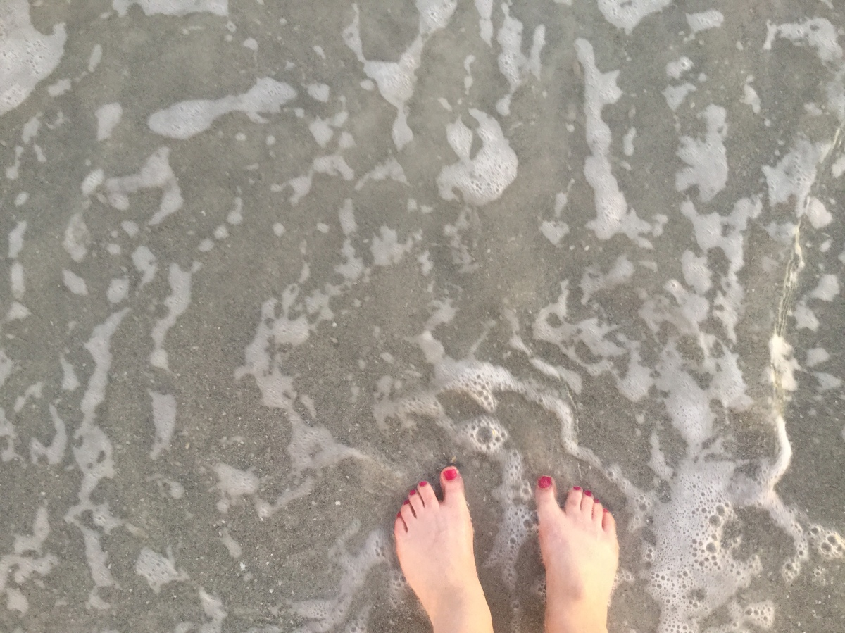 Sand Between My Toes!
