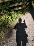 hiking partner shadow